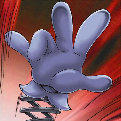 Comic-hand