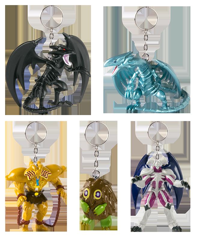 Figure Hanger Keychain Series 1 Blue Eyes White Dragon Yu-Gi-Oh