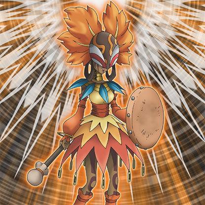Orange-shaman